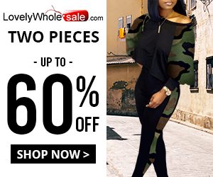 Get up to 60% off women's in style two pieces!