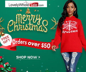 Join lovely Christmas sale & win free gifts for orders over $50