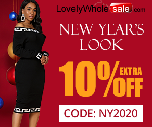 Need a New Year outfit idea? See our top picks for you! Click use our special code NY2020 to enjoy extra 10% off now