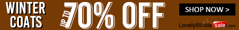 Up to 70% Off Winter Coats & Jackets from a great selection at lovelywholesale.com