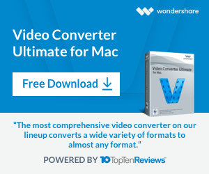 Wondershare  Video Converter Ultimate for Mac