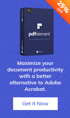 25% Off PDFelement