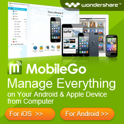 Wondershare MobileGo: Your No.1 Android & iOS Manager - 15%OFF use code: DEALUXE