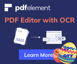 30% off for Wondershare PDFelement PDF editor