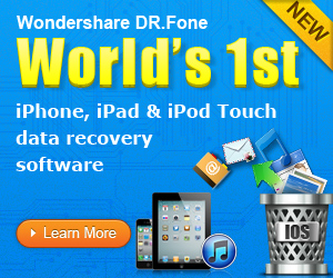 Recover the lost data of your iPhone/iPad/iPod Touch with one-easy-click!