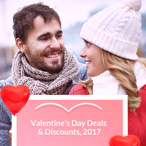 Save up to 56% on Valentines!
