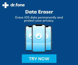Erase iOS data permanently and protect your privacy
