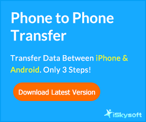 1 click transfer contents from smartphone to smartphone, safe and risk-free