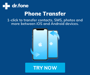 1-click to transfer contacts,SMS,photos and more between iOS and Android devices
