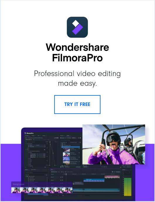 Filmora Pro