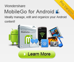 MobileGo for Android helps you manage your media files, apps and other data easily