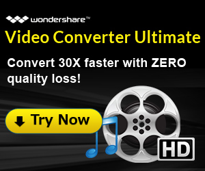 A Perfect Solution to all your video conversion needs! Wondershare Video  Converter Ultimate