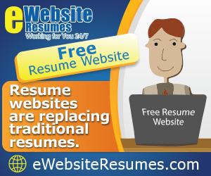 eWebsite Resumes - The Original Resume Website
