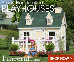 Amish Handcrafted Playhouses