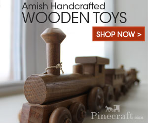 Amish Handcrafted Wooden Toys