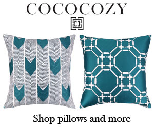COCOCOZY Embroidered Pillows-Blue-300x250