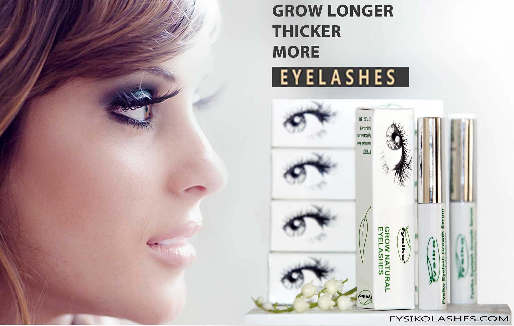 how to help your eyelashes grow longer thiicker healthier and darker using a serum for lashes that is natural and effective