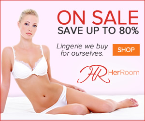 Save up to 80% on sale items at HerRoom! Shop Swimwear, Bras & Panties in an incredible selection of sizes and styles. Click here!
