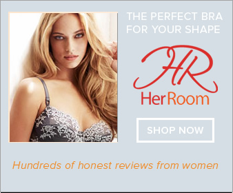 Find the perfect bra for your shape at HerRoom.com, featuring hundreds of honest reviews from women. Shop now!