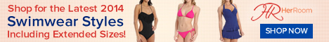 Shop for the Latest 2014 Swimwear Styles Including Extended Sizes!