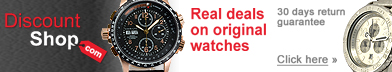 Discount watches online