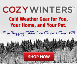 Cold Weather Gear for You, Your Home, and Your Pet.