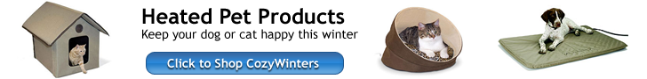 Cozy Winters Heated Pet Supplies