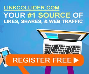Link collider website ranking tool