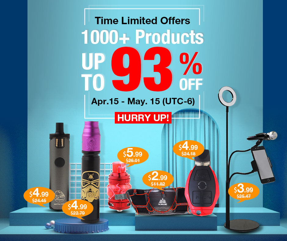 Sale! Up to 93% off