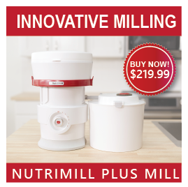 NutriMill Plus Grain Mill - $219.99 with Free Grain Book
