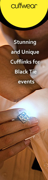 Cufflinks for black tie events