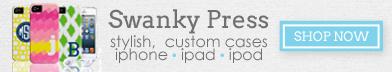 Cute Custom iPhone Cases at Swanky Press