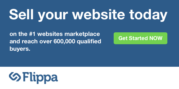 Sell your website today