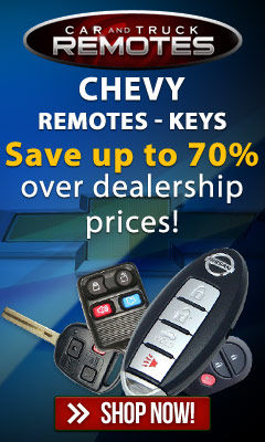 Chevrolet Keyless remotes and key fob controls for up to 70% less than dealer prices- Shop now and save!