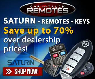 Saturn Keyless entry remotes and key fob controls for up to 70% less than dealer prices- Shop now and save!