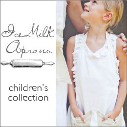 IceMilk Aprons Children's Collection