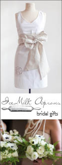 IceMilk Aprons Bridal Gifts