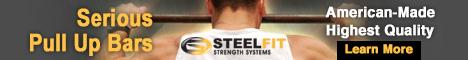 STEELFIT Strength Pull Up Bars
