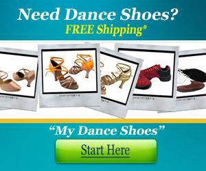 ballroom and salsa dance shoes