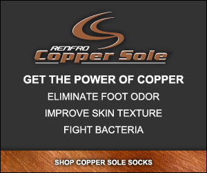 Shop for Copper Sole Extreme Athletic Socks