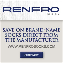 Save on Brand Name Socks. Direct from the Manufacturer. www.RenfroSocks.com