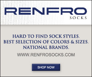 Save on brand-name socks direct from the manufacturer at www.RenfroSocks.com