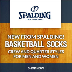 Feel like a pro with Spalding Basketball Socks! Buy now!
