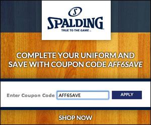 Save 10% on Spalding Basketball Socks
