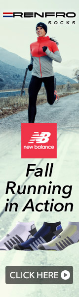 Fall Running in Action at Renfro Socks