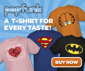 Pop Culture T Shirts for Everyone!