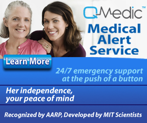 QMedic Medical Alert - Her Independence, Your Peace of Mind