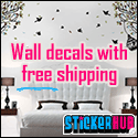 Wall decals with free shipping