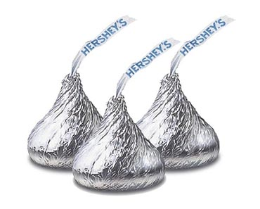 25 Pounds Of Hershey's Chocolate KISSES