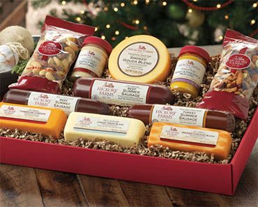 Enter The Hickory Farms Gift Basket Giveaway